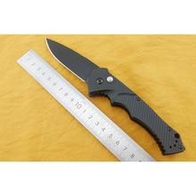 9600bk virar faca dobrável automático d2 lâmina de alumínio lidar com ferramentas ao ar livre bolso facas acampamento caça sobrevivência