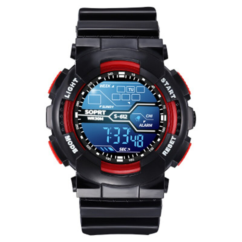 Kids Watches LED Flash Waterproof Digital Children's Watch For Boys Girls Quartz Alarm Date Week Clock