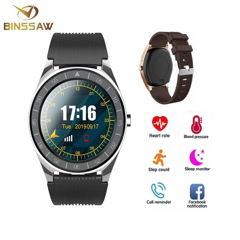 Reloj inteligente con pantalla táctil completa de pulgadas recordatorio de calorías modos deportivos Fitness reloj de llamada Bluetooth