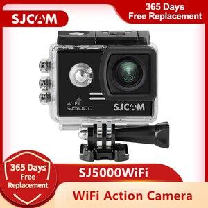 Оригинальная Экшн-камера SJCAM SJ5000 WiFi 1080P Full HD Sports DV 2,0 дюймов Дайвинг 30 м Водонепроницаемая мини-видеокамера