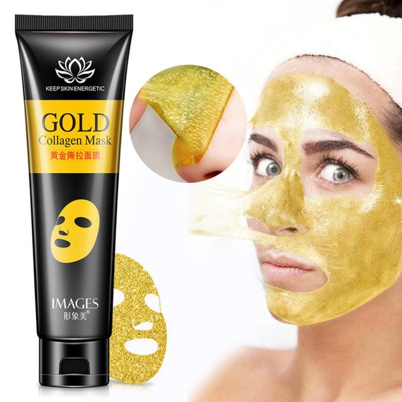 24k ouro colágeno casca fora da máscara de limpeza profunda remover acne preto cabeça levantamento endurecimento pele refrescante óleo controle máscara tslm2
