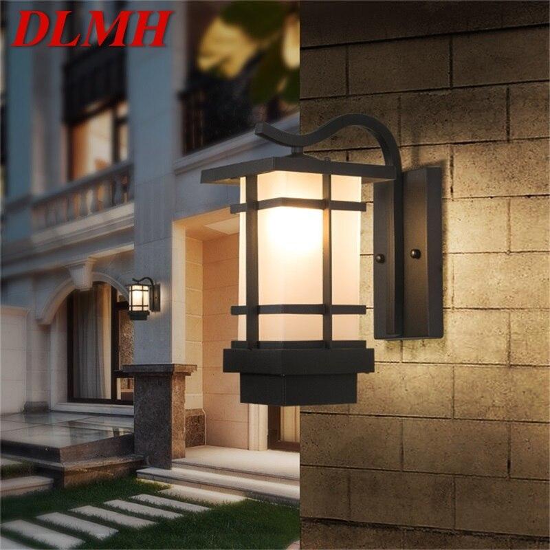 dlmh iluminacao led de parede para areas externas a prova dagua para varanda varanda