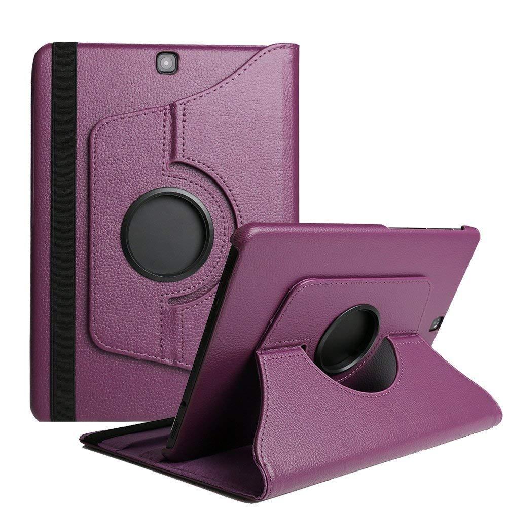 Capa de Couro do Plutônio para Samsung Tablet Case Aleta Suporte Galaxy Tab P555 T555c Wake Sono Automático Aba um 9.7 sm T550