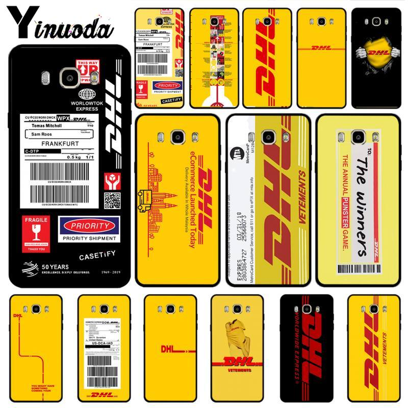 Yinuoda dhl caso de luxo para samsung galaxy s3 s4 s5 s6 s7 borda s8 mais s9 acessórios do telefone móvel