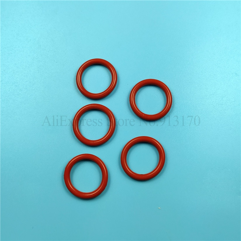 حلقة ختم O صغيرة حمراء ، 50 قطعة ، قطع غيار لآلة صنع الآيس كريم ، صمام ، قطع غيار