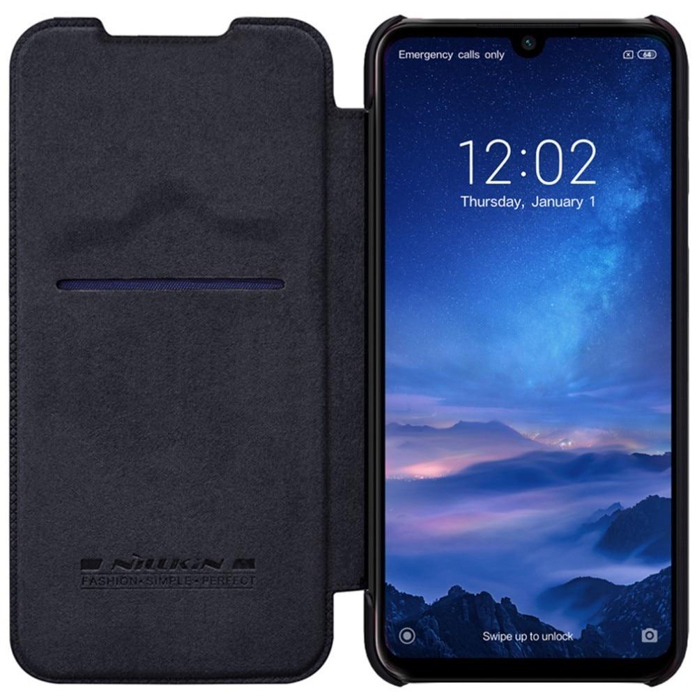 Xiaomi Redmi 7 Case Nillkin Qin Flip Leather Case Luxury Business Style Phone Case for Xiaomi Redmi 7 Redmi Y3  Back Cover