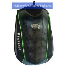 Mochila de fibra de carbono para motocicleta, resistente al agua, con carcasa de tortuga, Ktm-shoulder, bolso con carcasa dura para ciclismo