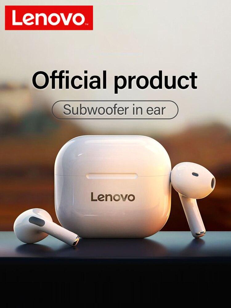 Original Lenovo LP40 wireless headphones TWS Bluetooth Earphones Touch Control Sport Headset Stereo