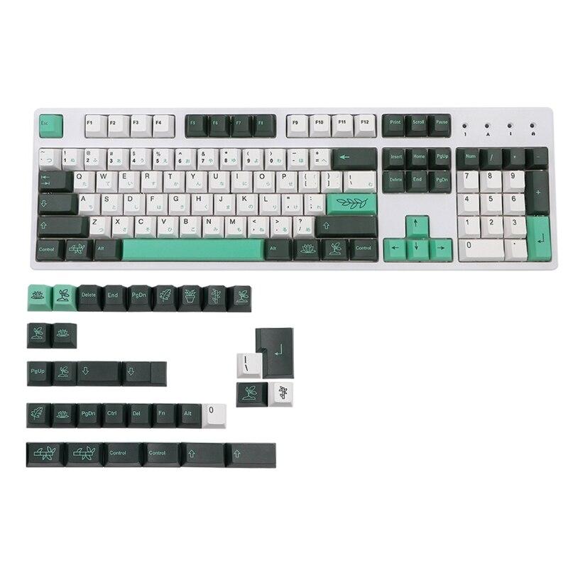 137 مفاتيح PBT صبغ التسامي كاي كابس للوحة مفاتيح الألعاب الميكانيكية اليابانية