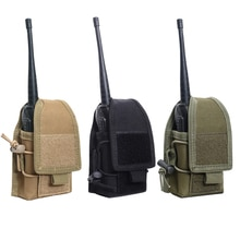 1000D Nylon Outdoor Pouch Tactical Sports Molle Radio Walkie Talkie Holder Bag Magazine Mag Pouch Po