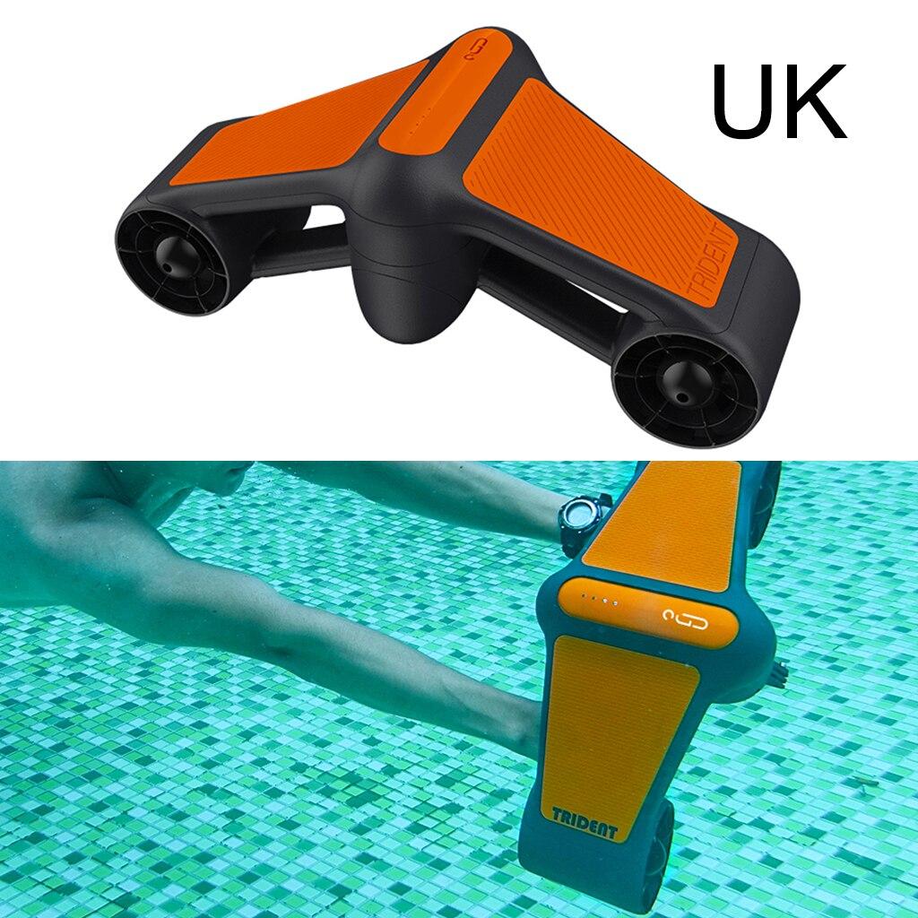 سكوتر تحت الماء مع حامل منصب الكاميرا الرياضية ، مراوح مزدوجة ماكس عمق 50 م سكوتر كهربائي مقاوم للماء التصوير