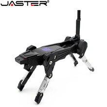 JASTER kunststoff spielzeug stil U disk cartoon charakter usb2.0-stick transfomer stick 4GB 64GB 16GB 32GB transformation roboter