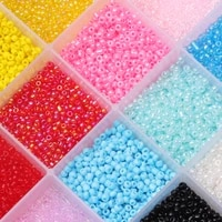pure color czech glass seed beads for handmade bracelet spacer beads for needlework pony beads for jewellery making