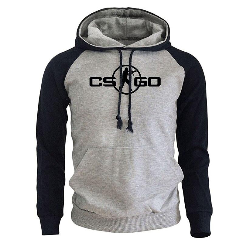 Juego CS GO Cosplay disfraz 2018 primavera moda Otoño Streetwear sudaderas raglán para hombre Harajuku sudaderas ropa deportiva para hombres