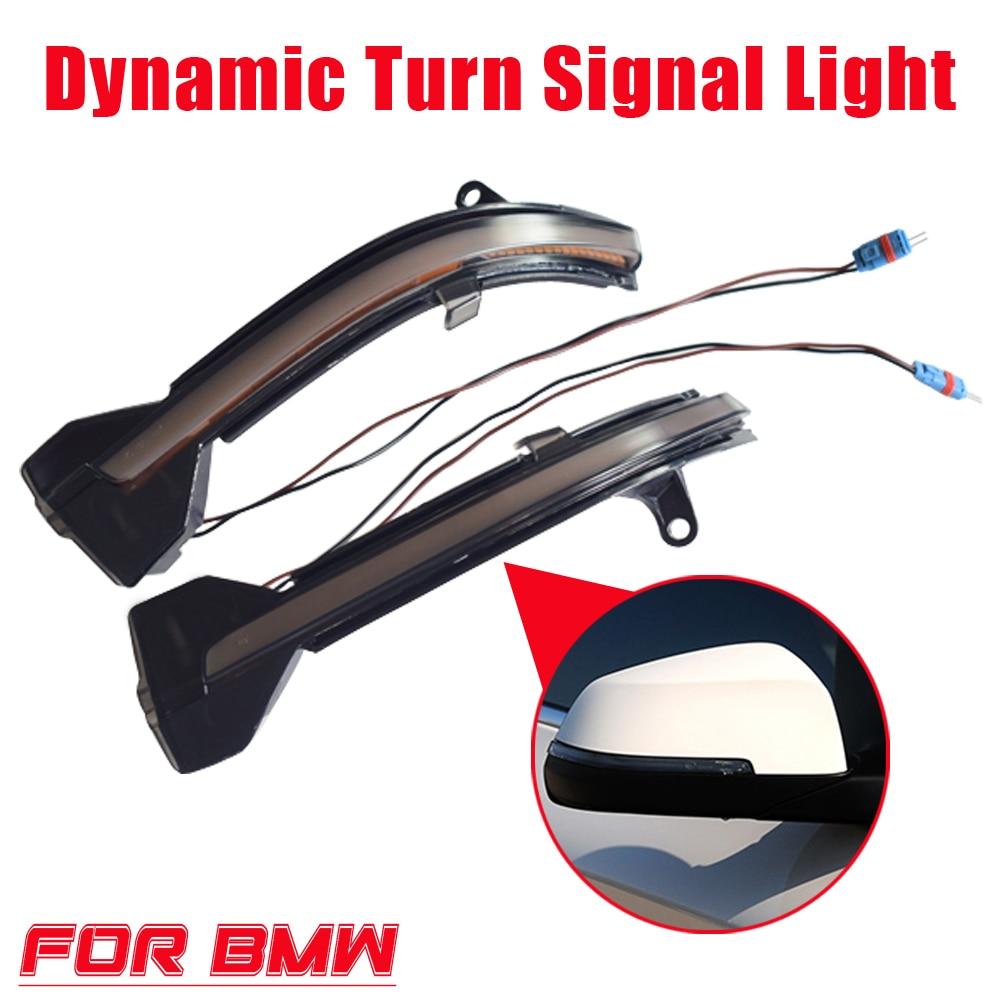 Luz indicadora de espejo retrovisor Led de señal de giro dinámica para BMW 5, 6, 7 Series F10, F11, F07, F06, F12, F13 y F01