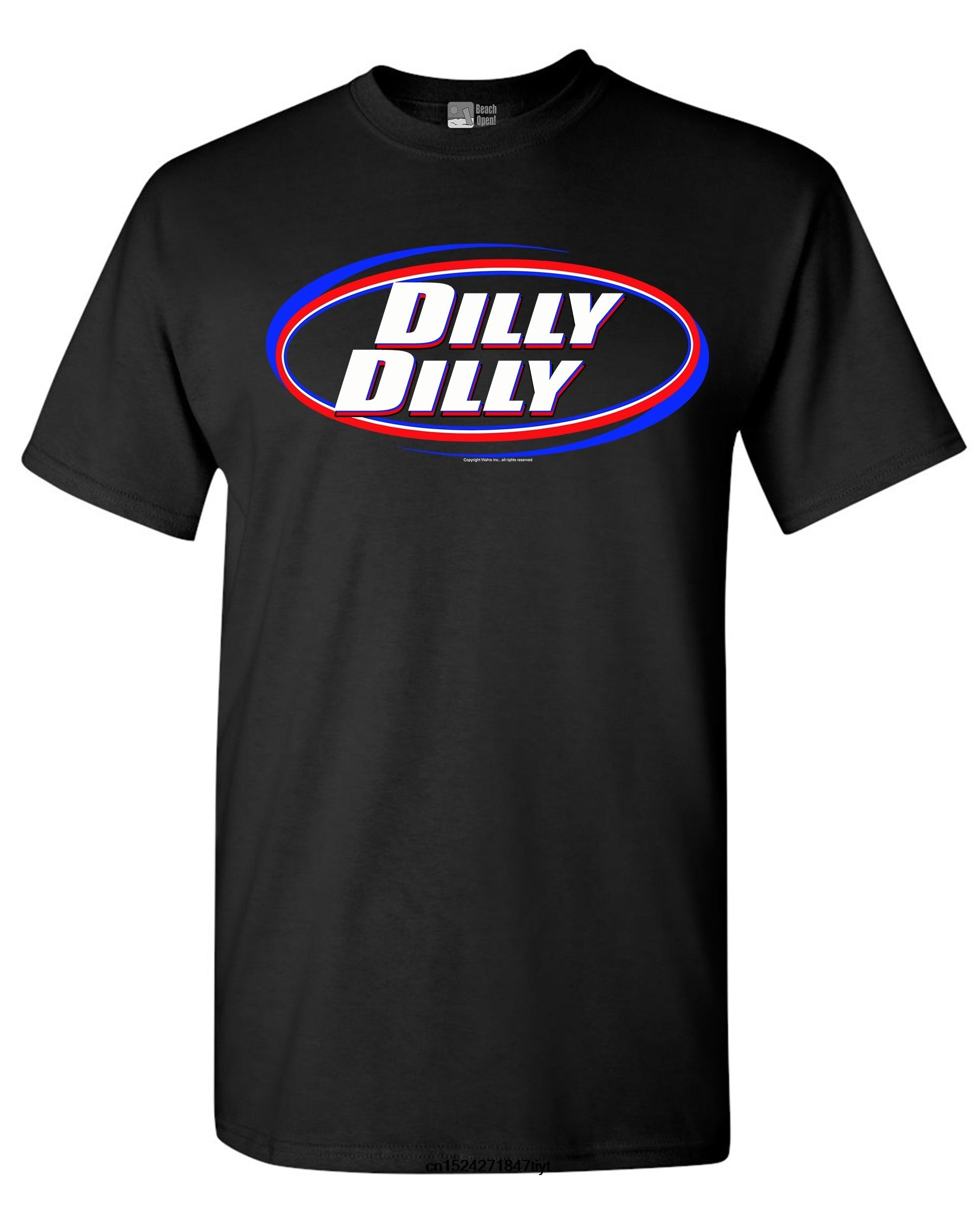 Los hombres t camisa camiseta camisetas camiseta negra Dilly cerveza salud fiesta divertido camiseta DT tee