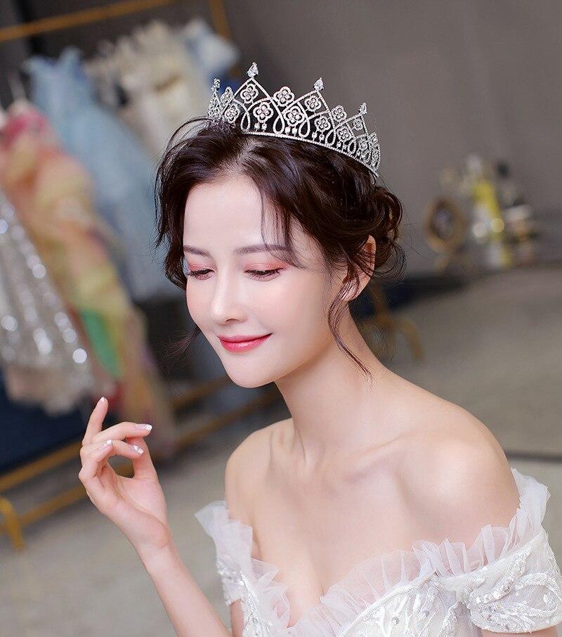 Piossa-Diadema de Reina para el cabello, Tiara de Reina increíble, retro, coronas...