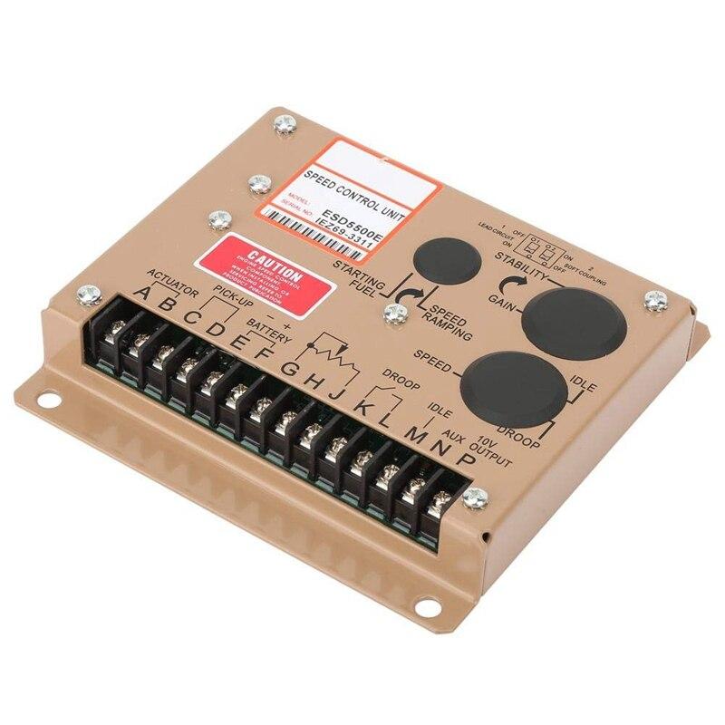 Controlador de velocidad para motor electrónico, Panel Controlador generador regulador ESD5500E para todo tipo de interferencias electromagnéticas A