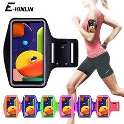 Correndo jogging ginásio esportes saco titular bolsa capa braço banda telefone caso para samsung galaxy a21s a20s a10s a70s a50s a40s a30s