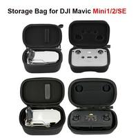 Storage Bag Carrying Case for DJI Mavic Mini 1/SE/Mini 2 Drone Remote Controller Waterproof Protector Portable Hardshell Handbag