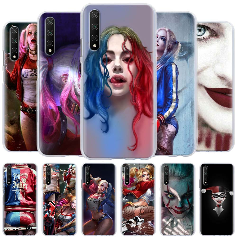 Harleys Quinn Joker Phone Case for Huawei Honor 8X 9X 8A 9A 9S 9C 10i 20i 10 20 Lite 30 Pro 20s 30s Hard Cover