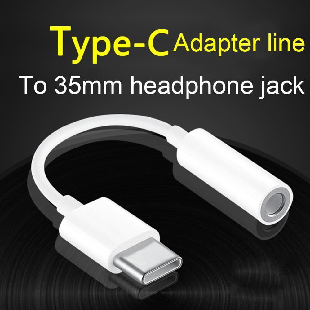 Adaptador Usb tipo C a Jack para auriculares, Cable auxiliar de Audio...