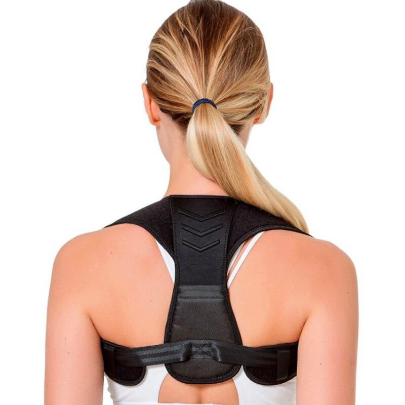 Corretor de postura superior volta straightener para pescoço corcunda scoliosis parar slouching trainer