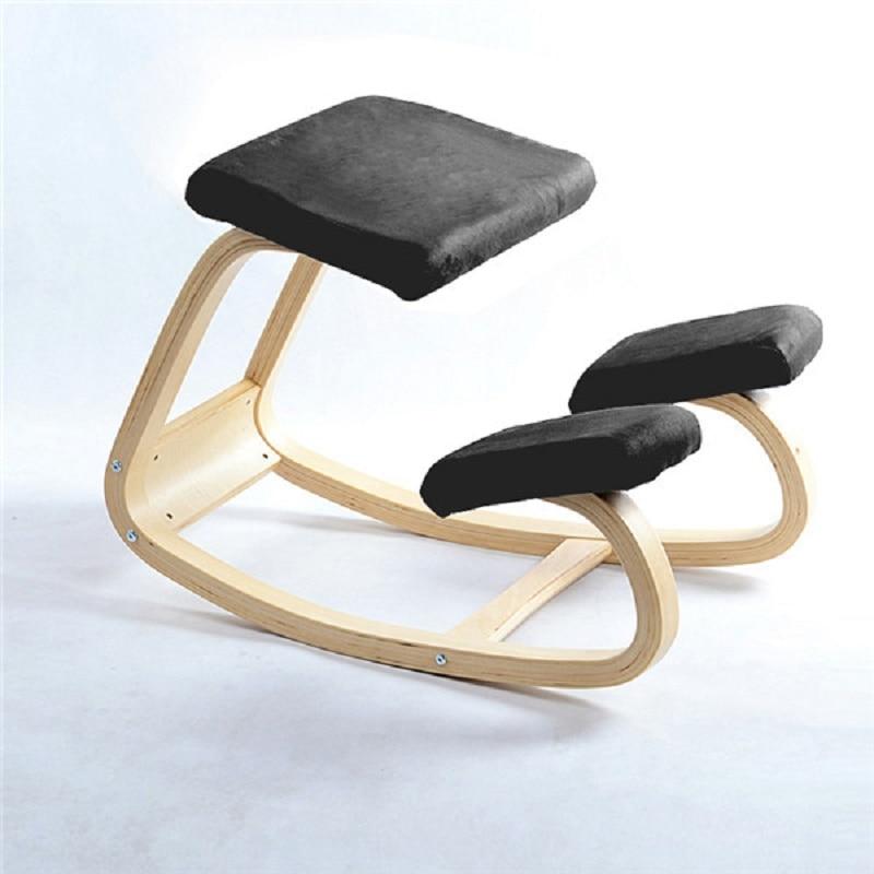 K-STAR Original Ergonomic Kneeling Chair Stool Home Office Furniture Ergonomic Rocking Wooden Kneeling Computer Posture Chair