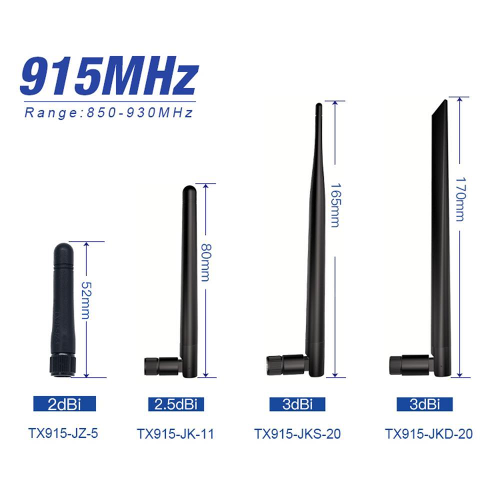 10pcs 915 MHz Antenna Long Range Omni Lora 915M Receiver External SMA male Antenna for Communication Wifi Extender Aerial TX915