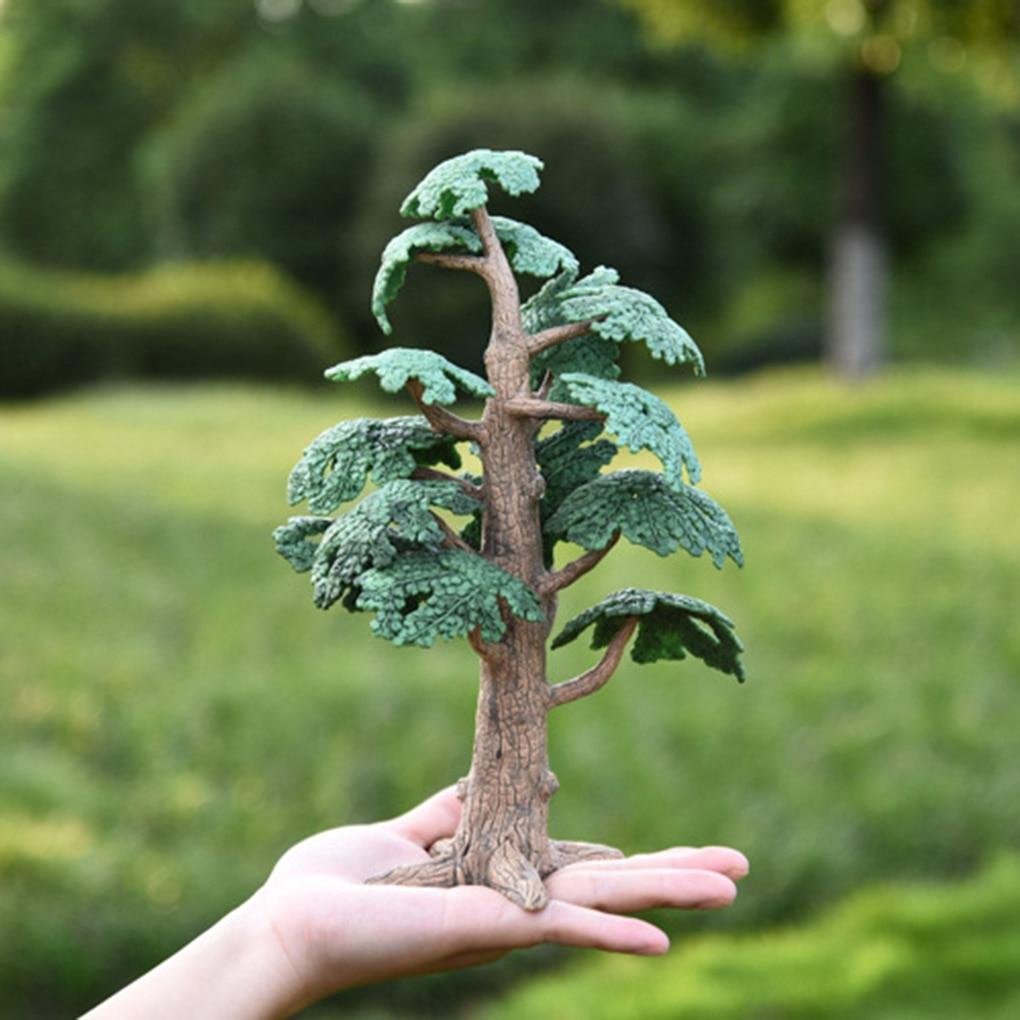Miniature Fairy Garden Pine Trees Mini Plants Dollhouse Decor Accessories Gardening Ornament Cute Miniature Dropshipping