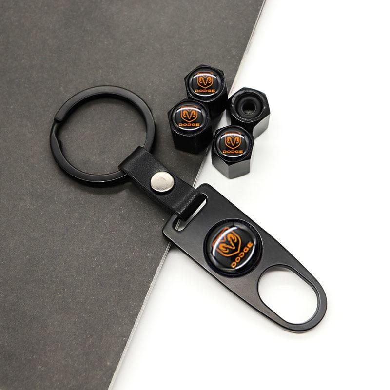 Универсальная крышка клапана автомобильных деталей, крышка клапана автомобильной шины подходит для DODGE-, может использоваться как брелок