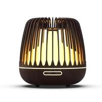 KBAYBO 500ML Diffuseur Darome Humidificateur Dair Ultrasonique Dhuile Essentielle de Grain de Bois 7 LED A Couleur Changeante Lumieres Brume FRAICHE Pour La Maison