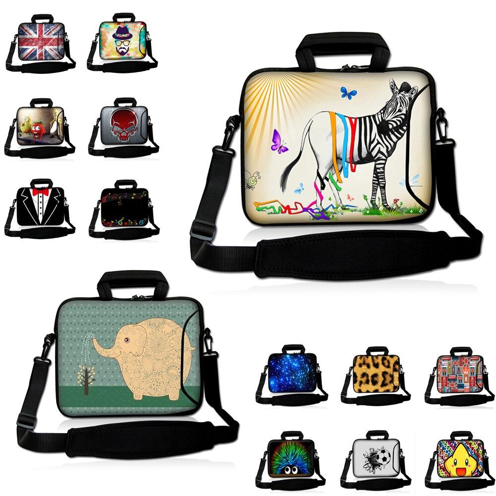 "Capa Para Notebook Messenger uchwyt teczka 10 ""12"" 13 ""14 15 17"" Laptop Chromebook teczka na ramię neoprenowa wodoodporna torba"