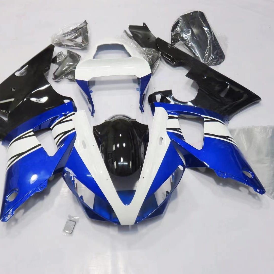2021 WHSC دراجة نارية هدية عدة لياماها R12000 أزرق أسود أبيض