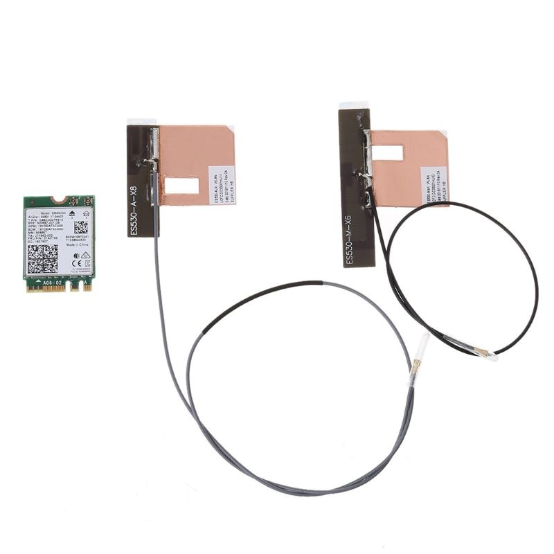 Doble banda inalámbrica-AC 9260 para Intel 9260NGW última generación de Factor de forma 802.11ac Kit de adaptador de tarjeta WiFi