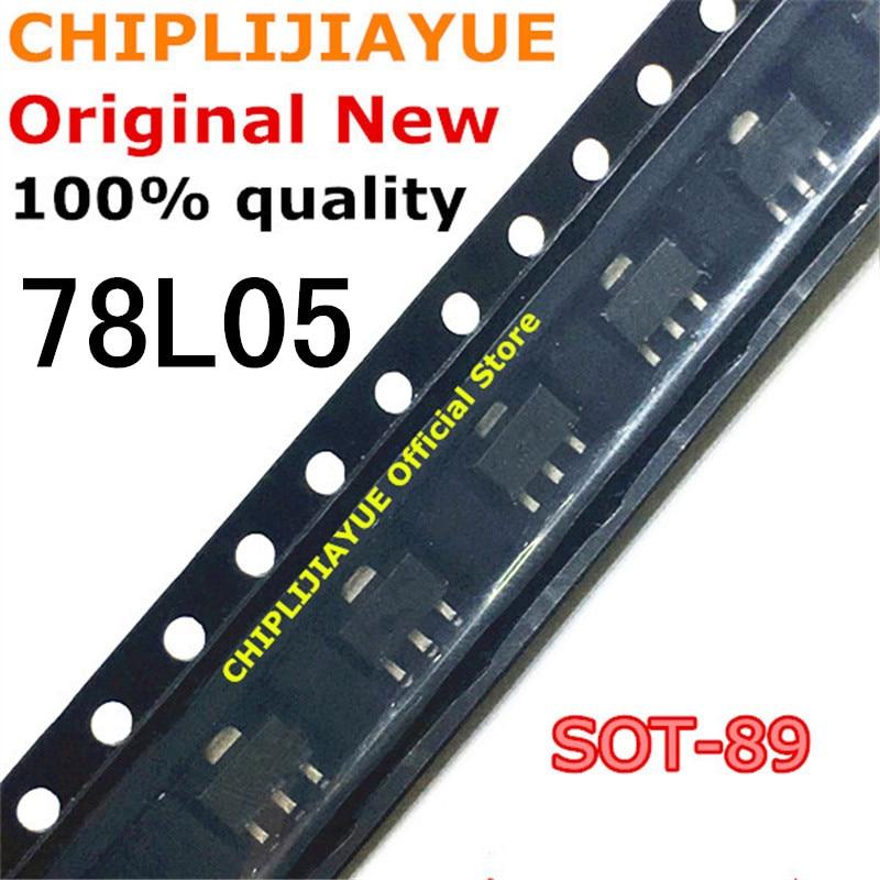 50-100PCS 78L05 SOT89 CJ78L05 SOT-89 SOT SMD new and original IC Chipset