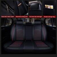 2020 New Custom Leather Four Seasons For mercedes benz w211 cla w212 w245 e-klasse gla w176 glk gle a180 Car Seat Cover Cushion
