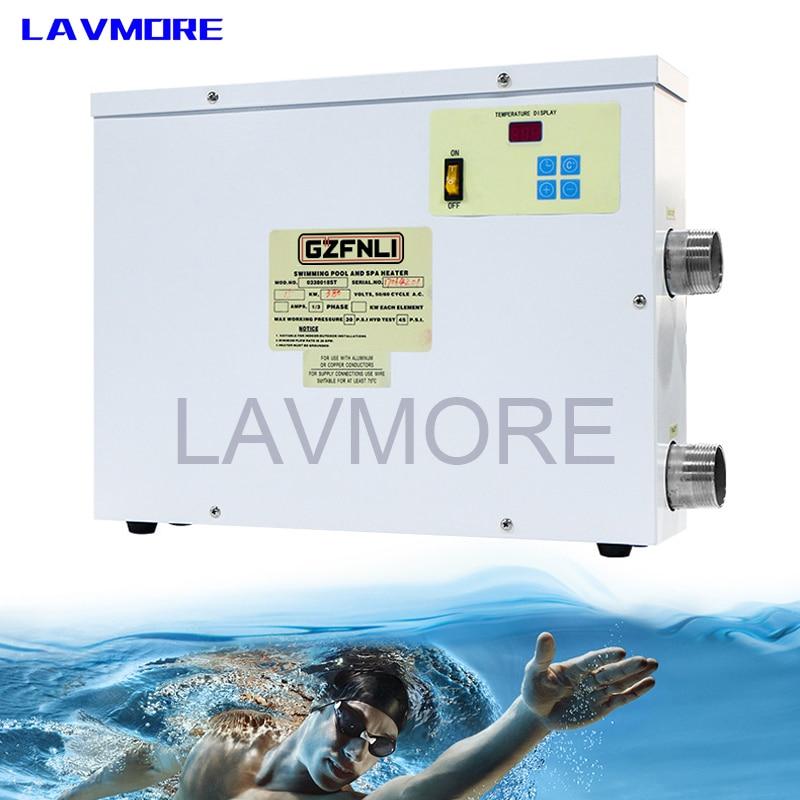 5.5kw to18KW 220 فولت/380 فولت بركة مضخة الحرارة/سخان مياه كهربي حمام سباحة وسخان سبا