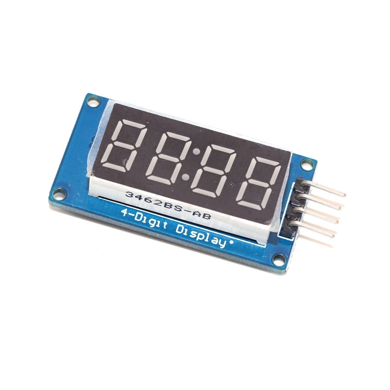 LED Display Module TM1637 For Arduino 7 Segment 4 Bits 0.36 Inch Clock RED Anode Digital Tube Four Serial Driver Board Pack