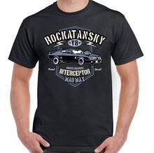 Rockatansky hommes Mad Max inspiré T-Shirt Supercharger Interceptor Film de voiture Cool décontracté fierté T-Shirt hommes unisexe nouvelle mode