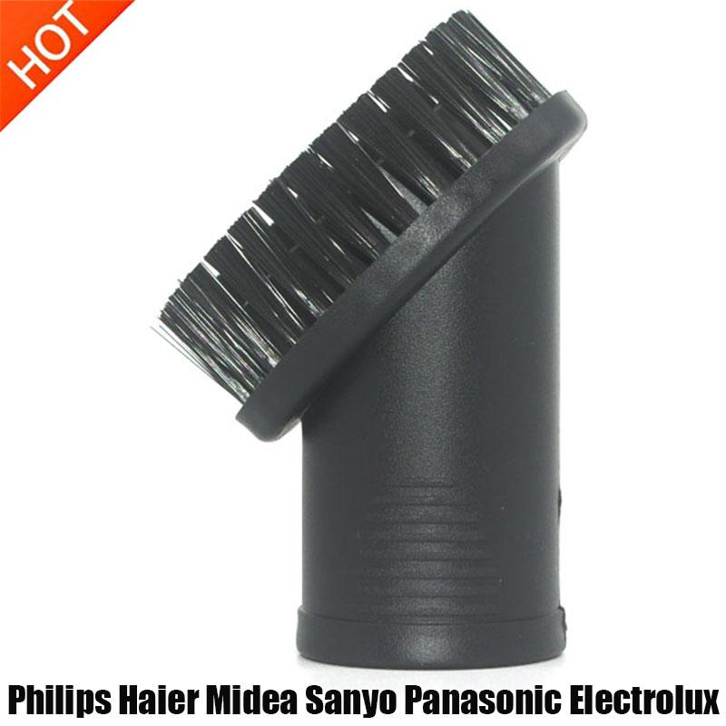 32 мм Вращающаяся круглая головка щетки для Philips Haier Midea Sanyo Panasonic Electrolux запасная часть для пылесоса аксессуары