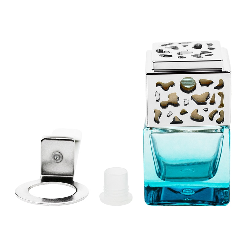 Car Outlet Essential Oil in-car Air Freshener Diffuser Car Perfume Car Air Vent Decoration for Girl Car Glass Bottle Accessories