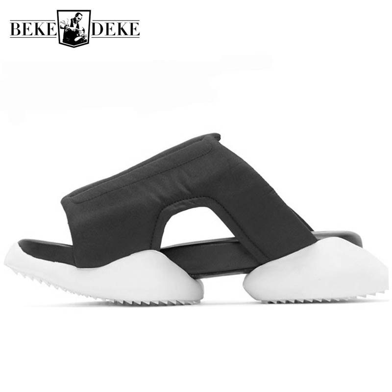 Men Rome Flip Flops Luxury Trainers Anti-skid Casual Shoes Slippers Slides Summer Flats Gladiator Bl