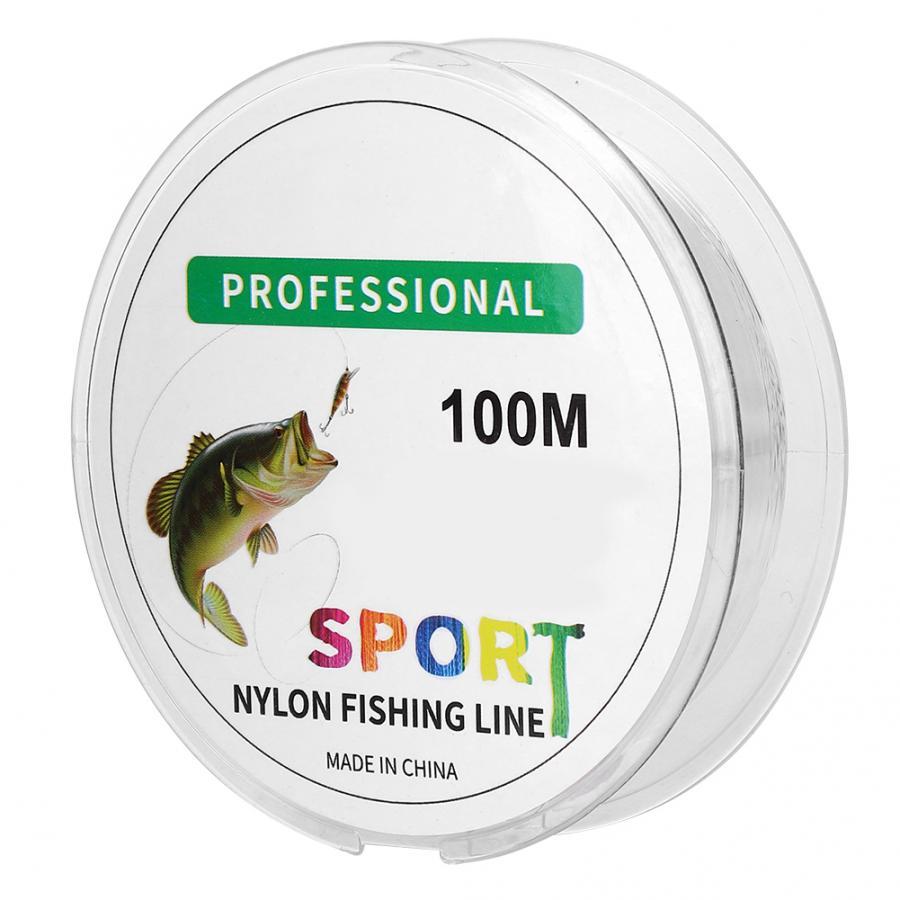 100M súper línea de pesca de alta calidad línea de pesca de Nylon peso ligero carpas Catfish línea accesorios de pesca al aire libre