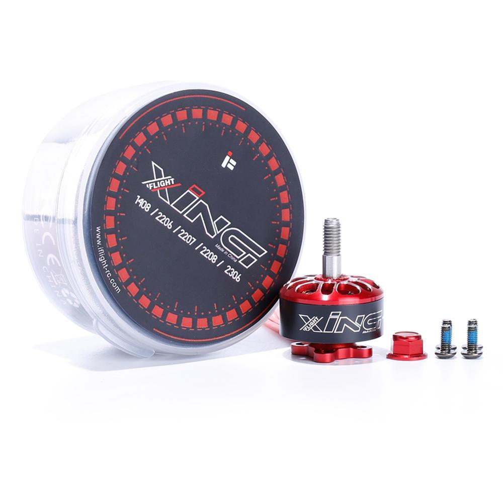 IFlight XING Motor XING-E XING E 2208 2150KV/2450KV 3-5S FPV Racing Motor sin escobillas 5043 compatible de la Hélice para RC FPV Drone