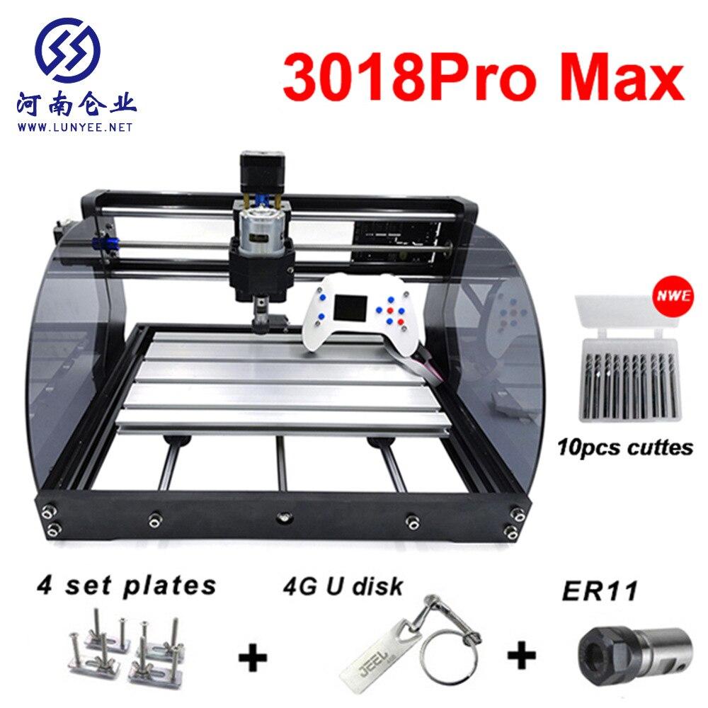 ماكينة الحفر بالليزر الصغيرة CNC3018MAXDIY ، ماكينة الحفر بالليزر يمكن تشغيلها دون اتصال