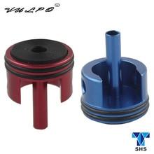 VULPO SHS CNC aluminiowa głowica cylindra do Airsoft AEG Ver.3 G36/G36C/blizna/MASADA skrzynia biegów