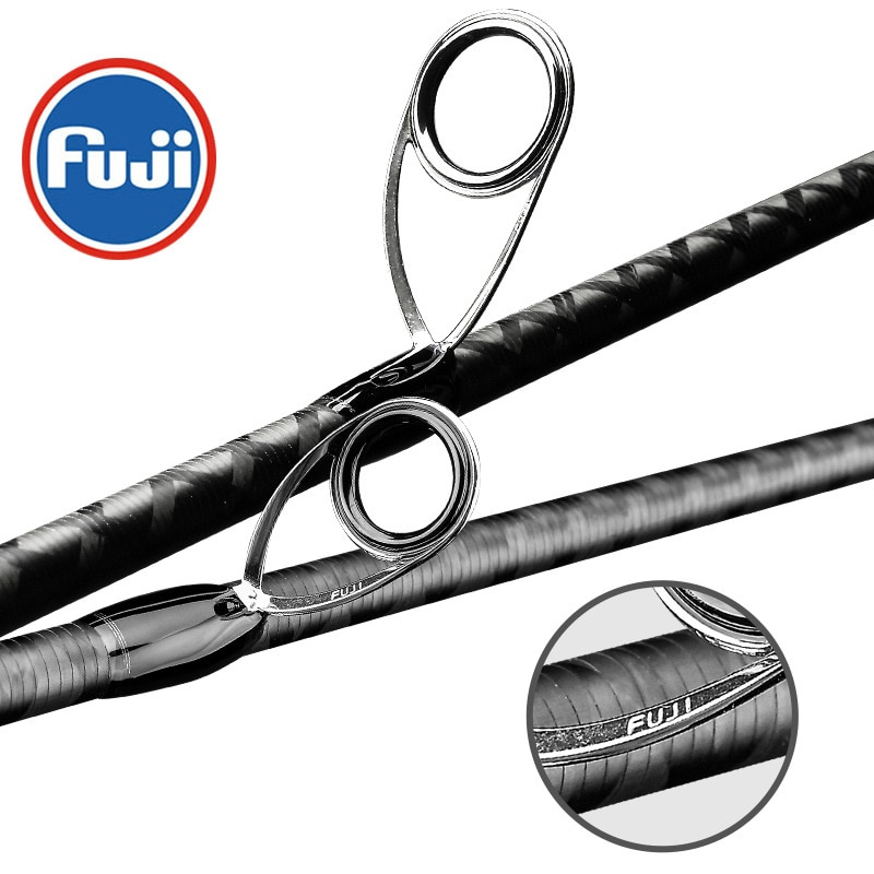 Fuji Fishing Rod Profession High Carbon Sea Bass Octopus Shore Jigging Rod Ocean Popping ML M MH Spinning Casting Lure  Rods enlarge