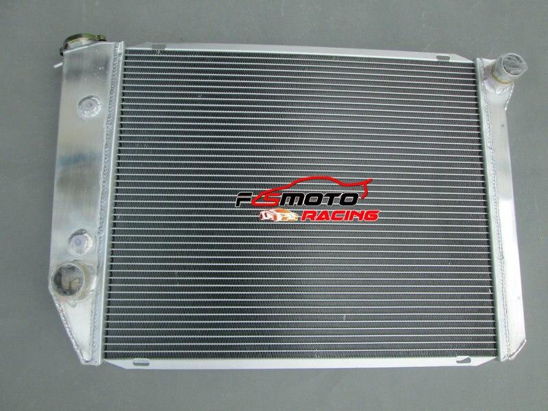 Full Aluminum Alloy Radiator For Ford Falcon XA/XB/XC/XD/XE Fairmont Cleveland 302/351 V8 72-84