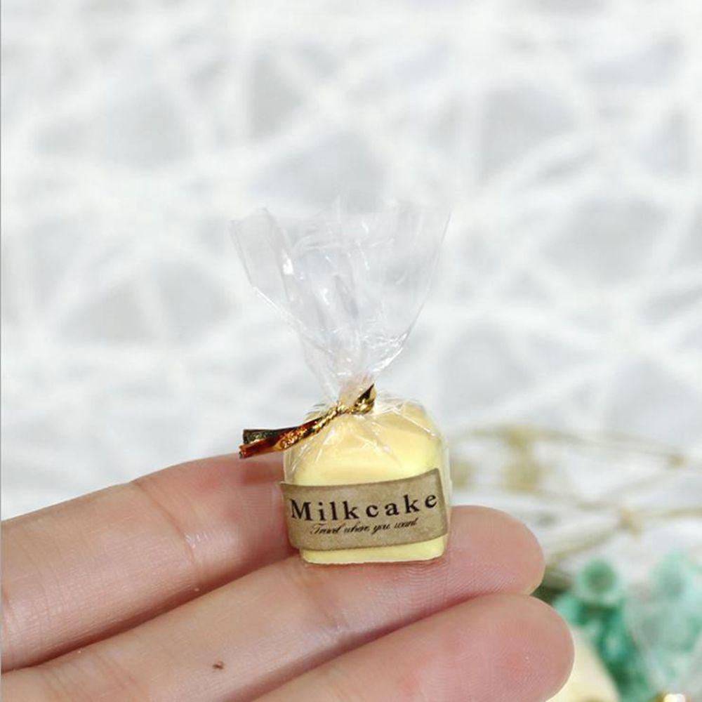 Pastel de pan de leche en miniatura para Blyth Barbies OB11 1/6...